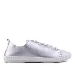 stříbrno bílé tenisky TENDENZ VSS17-017
