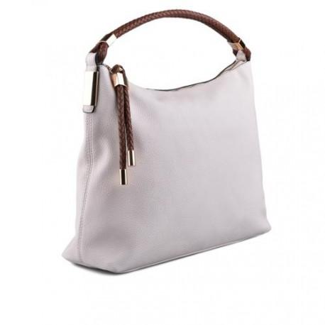 bílo hnědá elegantní kabelka TENDENZ FFS17-003