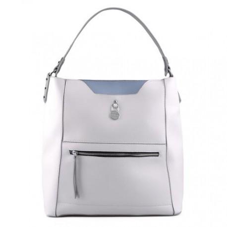 bílá elegantní kabelka FFS17-027