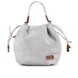 "dámská ""tmavě"" bílá elegantní kabelka TENDENZ FFS17-016"