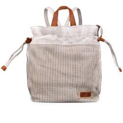 dámský bílý elegantní batoh TENDENZ FFS17-048/