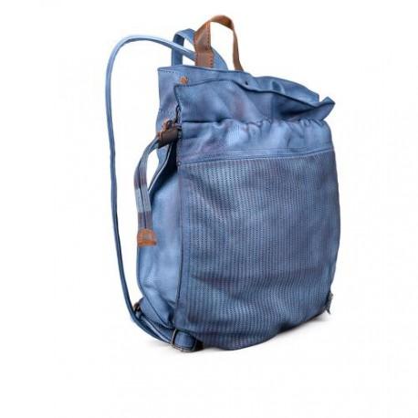 dámský modrý elegantní batoh TENDENZ FFS17-048
