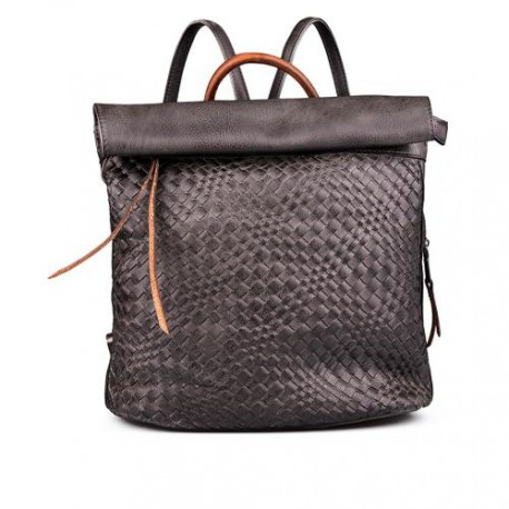 dámský černý elegantní batoh TENDENZ FFS17-045