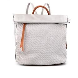 """dámský """"tmavě"""" bílý elegantní batoh TENDENZ FFS17-045"""