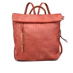 dámský  červený elegantní batoh TENDENZ FFS17-045