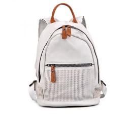 """dámský """"tmavě"""" bílý elegantní batoh TENDENZ FFS17-034"""