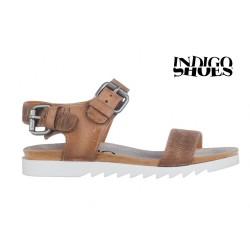 béžové kožené sandály INDIGO Shoes 1593
