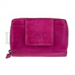 dámská kožená tmavě růžová peněženka Lagen 931/D
