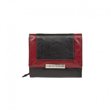 dámská kožená červená peněženka Lagen PWL-388/L