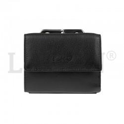 dámská kožená černá peněženka Lagen 553344