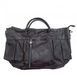 černá kabelka zdobena cvoky  Chic & Pretty CP0811