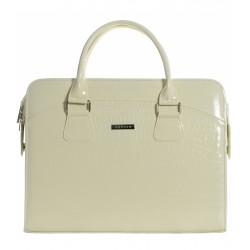 béžová taška na notebook Grosso ST01