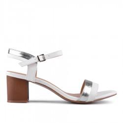 bílé sandálky TENDENZ CRS18-014