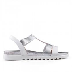 bílé sandálky TENDENZ CRS18-027