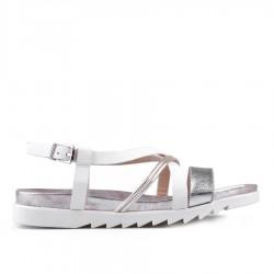 bílé sandálky TENDENZ CRS18-028