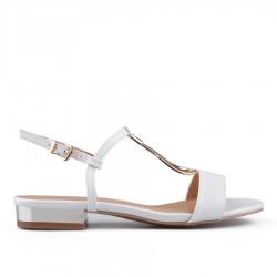 bílé sandálky TENDENZ CRS18-037