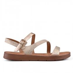 zlaté sandálky TENDENZ CRS18-041
