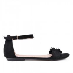 černé sandálky TENDENZ VKS18-022