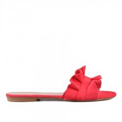červené pantofle TENDENZ VKS18-021