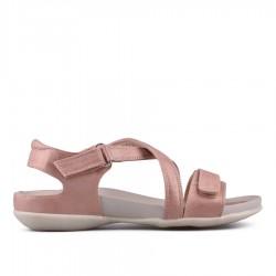 růžové sandálky TENDENZ CMS18-014