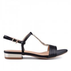 černé sandálky TENDENZ CRS18-037