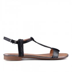 černé sandálky TENDENZ CRS18-038