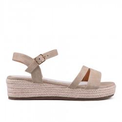 béžové sandálky TENDENZ GBS18-020