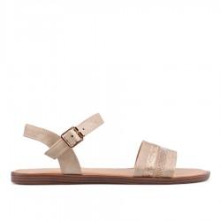béžové sandálky na platformě TENDENZ IRS18-003