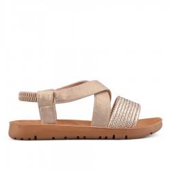 zlaté sandálky Tendenz VIS18-023