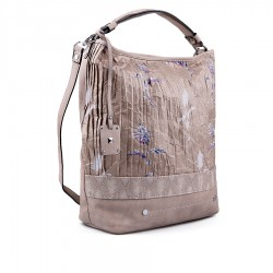 béžová kabelka TENDENZ FFS18-004