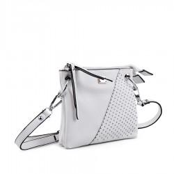 bílá malá kabelka TENDENZ FFS18-008