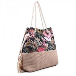 letní taška s květinami TENDENZ FFS18-062
