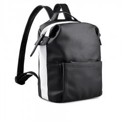 černo-bílý batoh TENDENZ FFS18-064