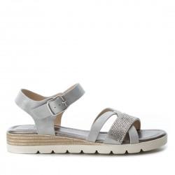 stříbrné sandálky Refresh 64298