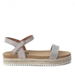 světle šedé sandálky Refresh 64301