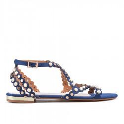 modré sandállky TENDENZ GBS18-026