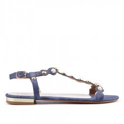 modré sandállky TENDENZ GBS18-025