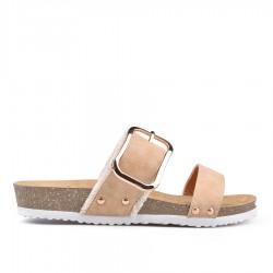 béžové pantofle TENDENZ GBS18-015