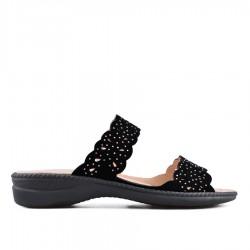 černé pantofle TENDENZ OTS18-024