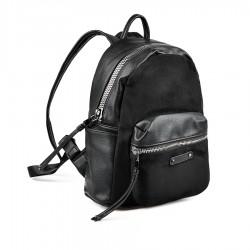 dámský černý batoh TENDENZ FFW18-008