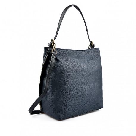 modrá kabelka TENDENZ FFW18-015