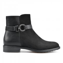 černá kotníková obuv TENDENZ REW18-028