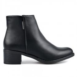 černá kotníková obuv TENDENZ REW18-089