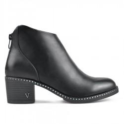 černá kotníková obuv TENDENZ REW18-040