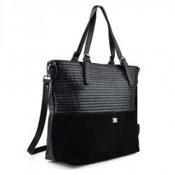 černá kabelka TENDENZ FFW18-063