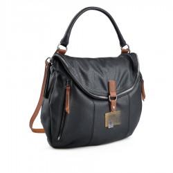 černá kabelka TENDENZ FFW18-066