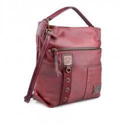 červená kabelka s nápisy TENDENZ FFW18-067