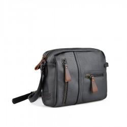 černá crossbody kabelka TENDENZ FFW18-069