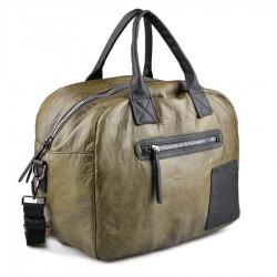 zelená kabelka s nápisy TENDENZ FFW18-085