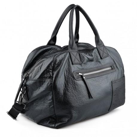 černá kabelka s nápisy TENDENZ FFW18-085